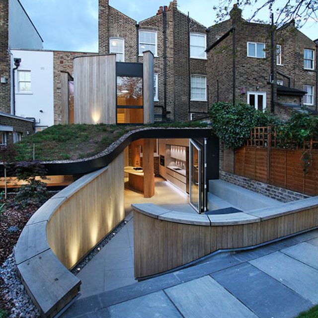 image: Curvy timber extension by Scott Architects features a s by pattercoolness