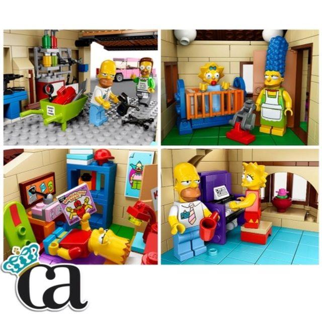 image: Más rincones de la casa de Lego de LOS SIMPSONS by carlosarnelas