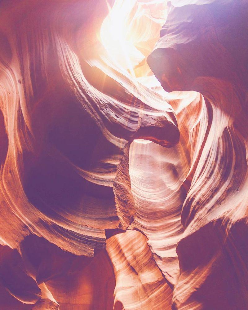 image: What an amazing place... ?.....#ig_shotz #visualoflife #folkmagazine #folkgood #folkgreen #ig_color #ig_unitedstates #antelopecanyon #arizona #arizonahiking #arizonagram #visualcollective #agameoftones #beautifuldestinations #bestoftheday #photoofthe by majolophoto