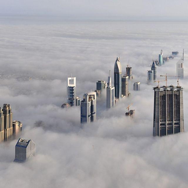 image: Sunrise in Dubai by arturo