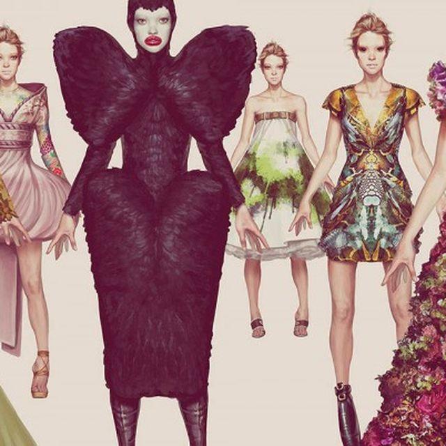 post: Ignasi Monreal's Fashion Illustrations | Trendland by ignasimonreal