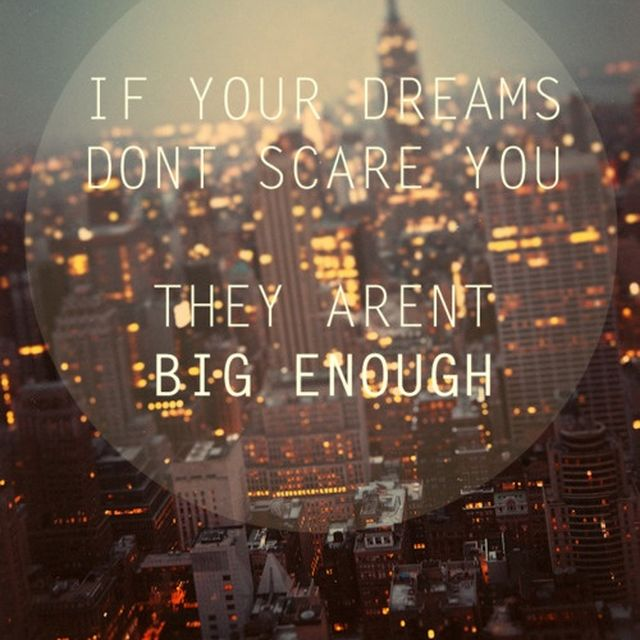image: If your dreams don't scare you... by andres-calamar-oh