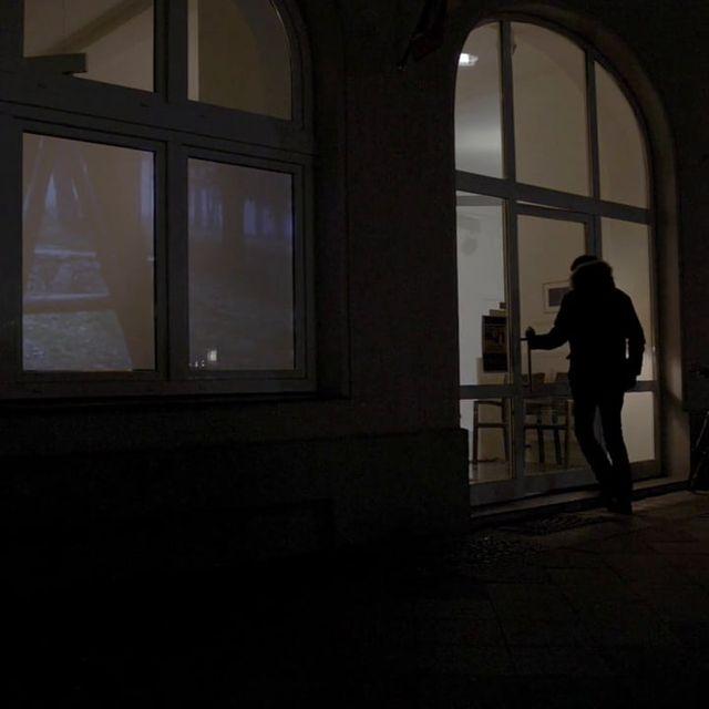 video: Aus heiterem Himmel - Video installation. Berlin by irenecruz