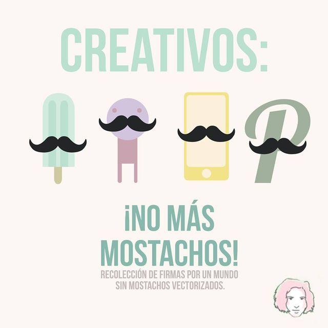 image: No mas Mostachos!!! by taniaaristi