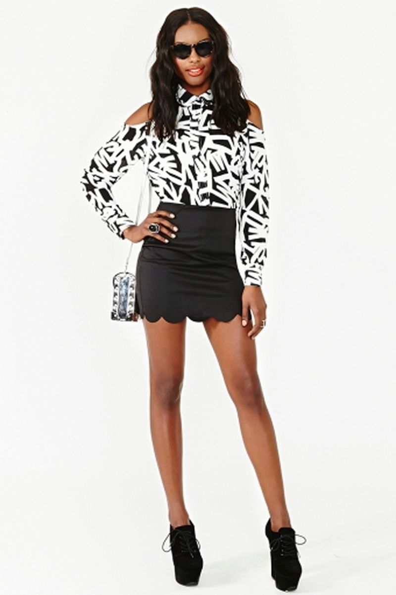 image: Decoded blouse - Nasty Gal by sweet-olivia