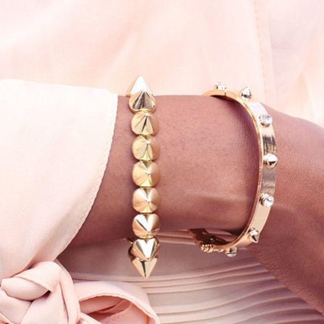 image: Spike Stretch Bracelet by rmuinelo