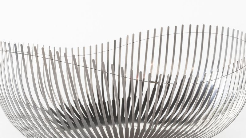 image: Delicate Steel Bowls That Flex With A Wire by stanis
