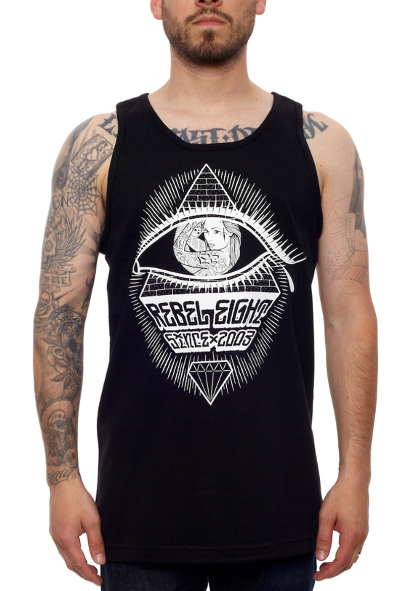 image: MECCA BLACK TANK · SUMMER 2013 ·  by REBEL8 by mapydh