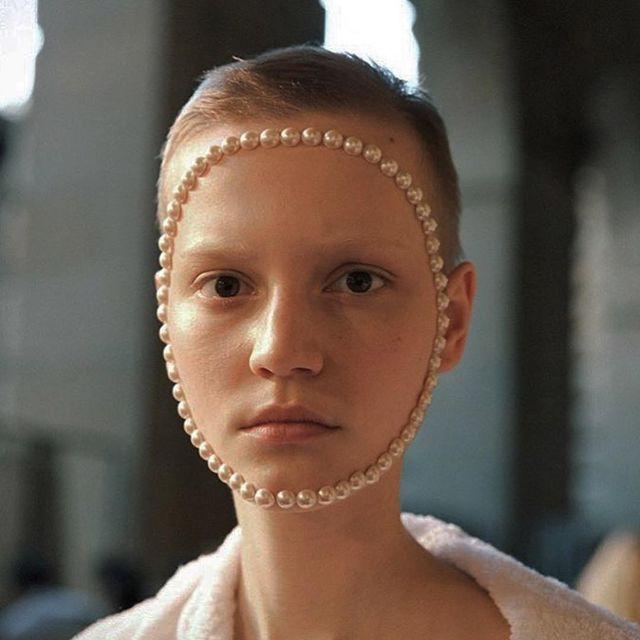 image: @lina_hoss #GucciCruise18 #jasoncampbellstudio by jasoncampbellstudio