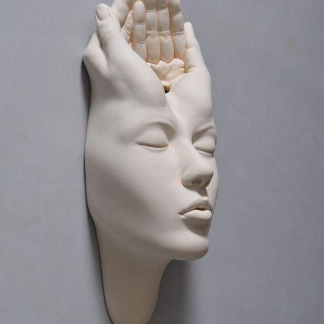 image: Open Mind.........#JohnsonTsang #ceramics #sculpture #arts by johnsontsang