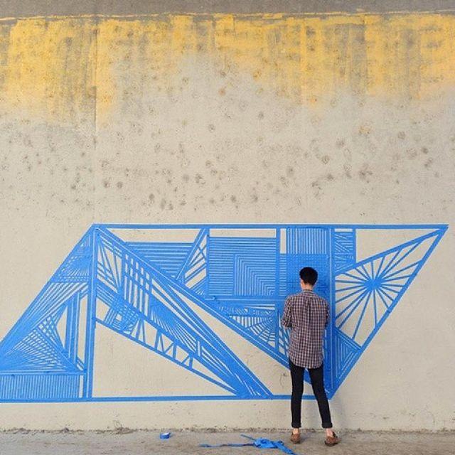 image: Tape Graffiti by charmingcyan
