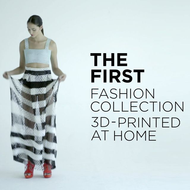 video: 3D-printed clothing collection took student 2,000 ho... by neverdiscrete