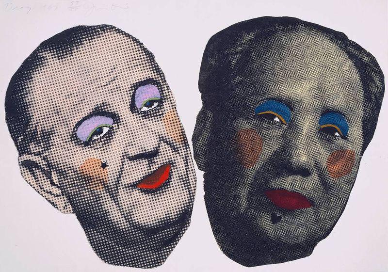 image: 'Drag - Johnson and Mao' by Jim Dine by davidzimmerman