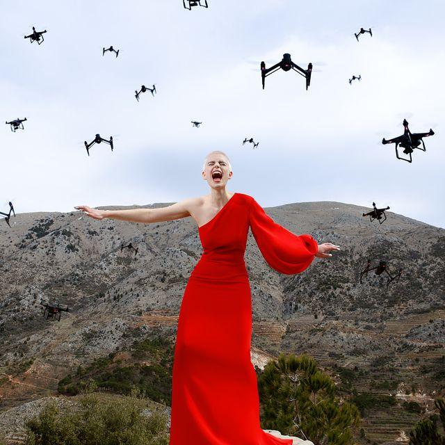 "image:  ""The Birds"" by elirezkallah"