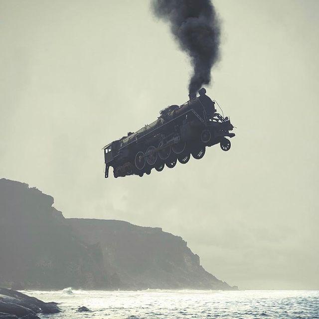 image: Dmitry Maksimov - Cliff Rail (photography/photomanipulation) #dmitrymaksimov by durmoosh