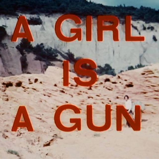 image: a girl is a gun, yes by inessamina