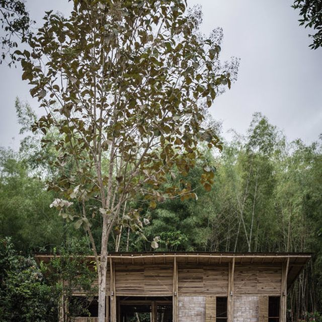 image: Low-cost house by Enrique Mora Alvarado built using ... by waryamaranth