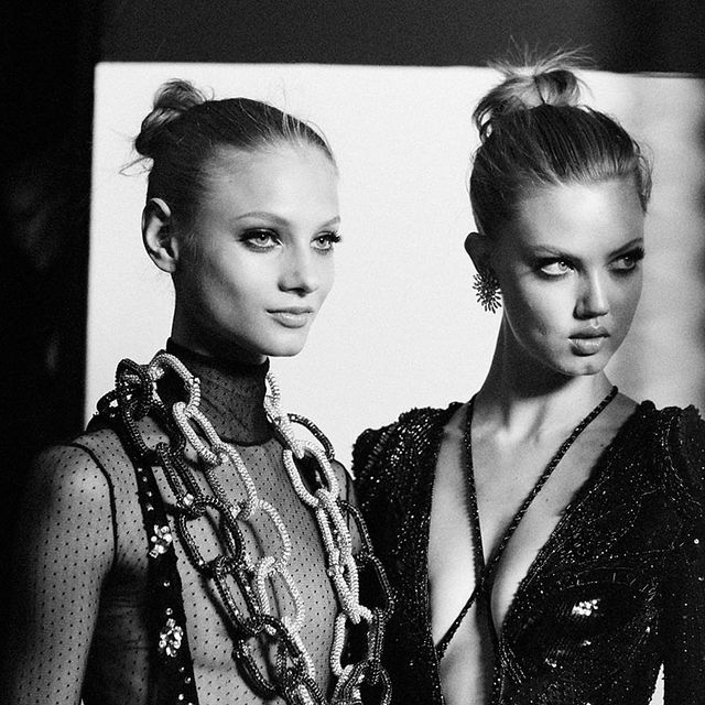 image: MODELS: VERSACE COUTURE FALL 2013 by fashionnet
