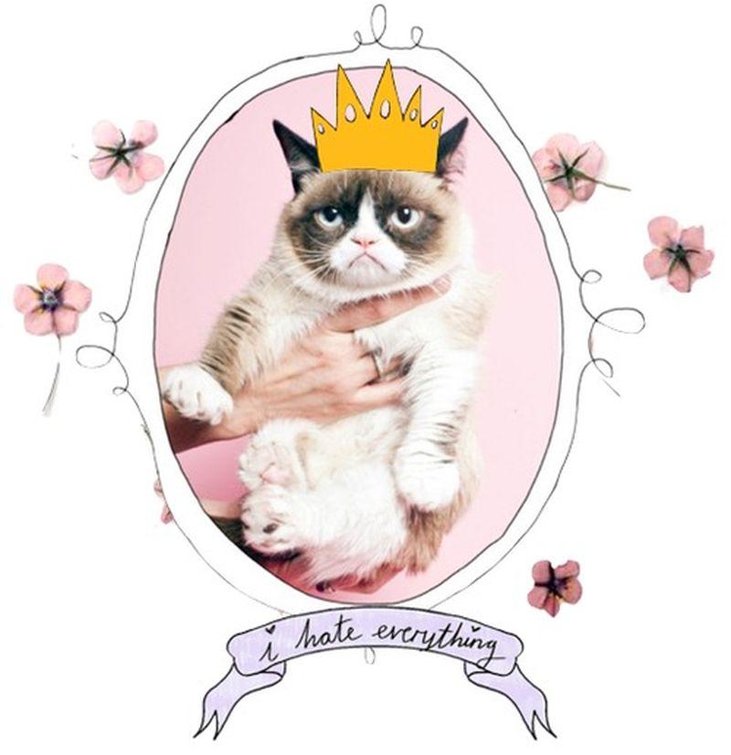 image: grumpy cat by chloewallace