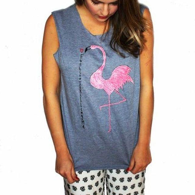 image: Flamingo Tshirt by fashioniskillingme
