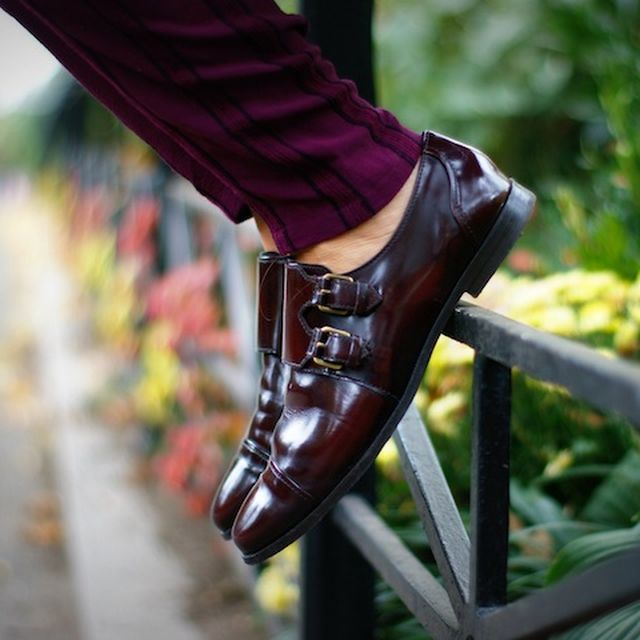 image: Burgundy Shoes by valentinasilva
