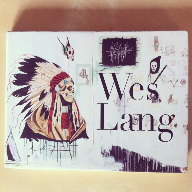 image: Wes Lang Book by eche