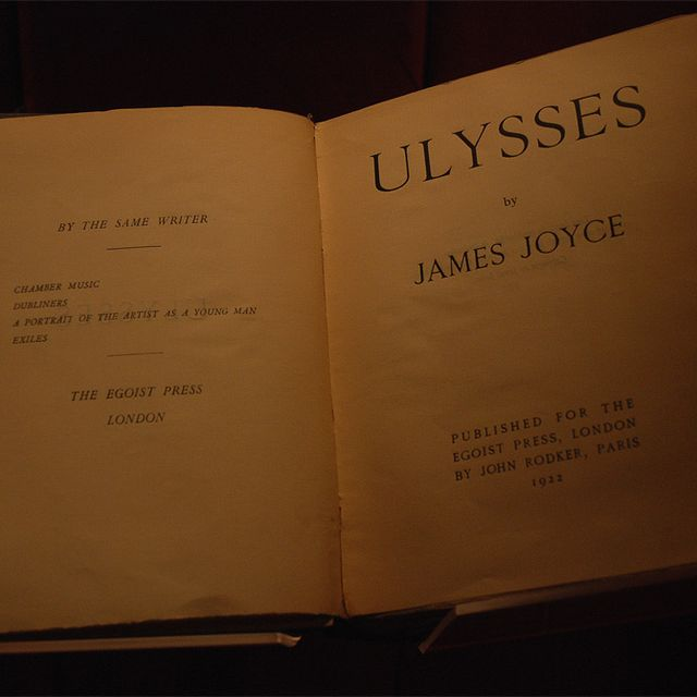 image: ulysses. james joyce. masterpiece by moisesmm10