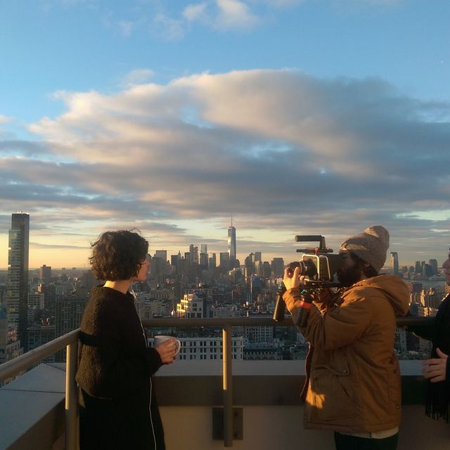 image: NYC Rooftop by jaqatq