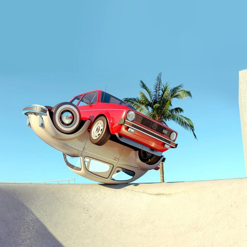 image: VW Love #golfgti #vwbeetle by chrislabrooy