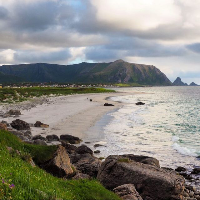 image: A beautiful beach in Norway that I hope will stay beautiful! ?? It's Month 2 of my quest to help show you how little changes to the way you travel can have a huge impact on our planet! This month, the pledge I'm focusing on with the World Travel &... by dangerousbiz