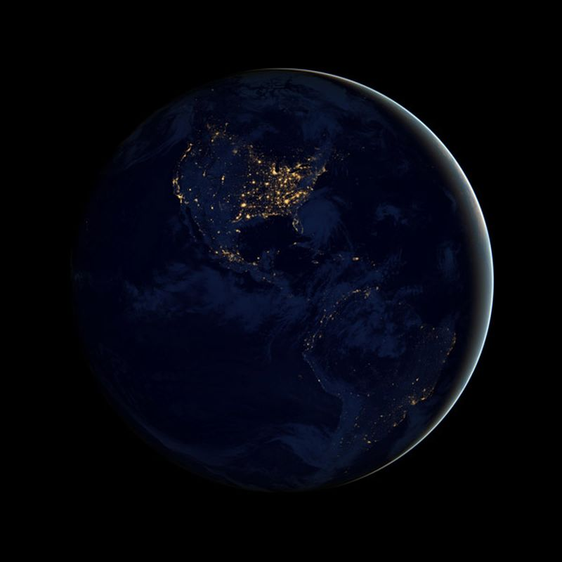 image: Earth from Space by herbert-nitsch