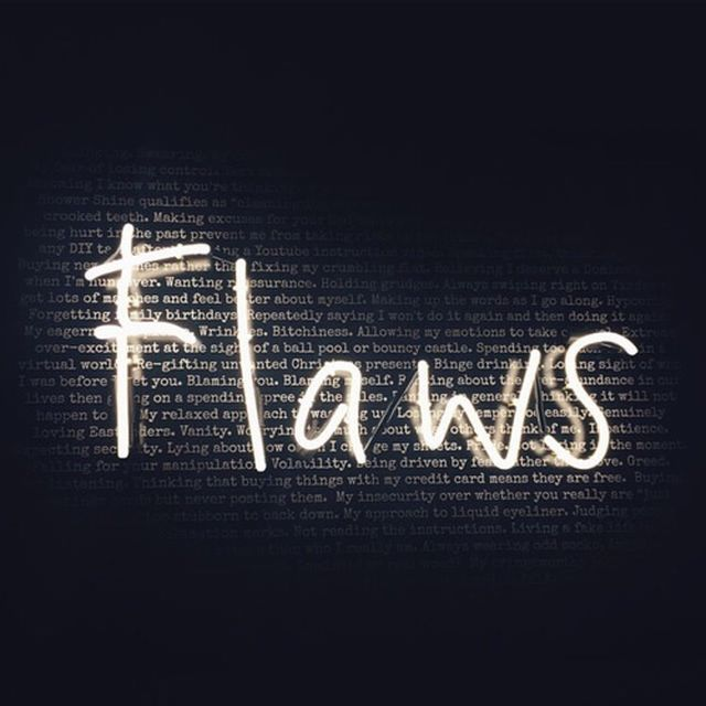 image: flaws by lightbulb