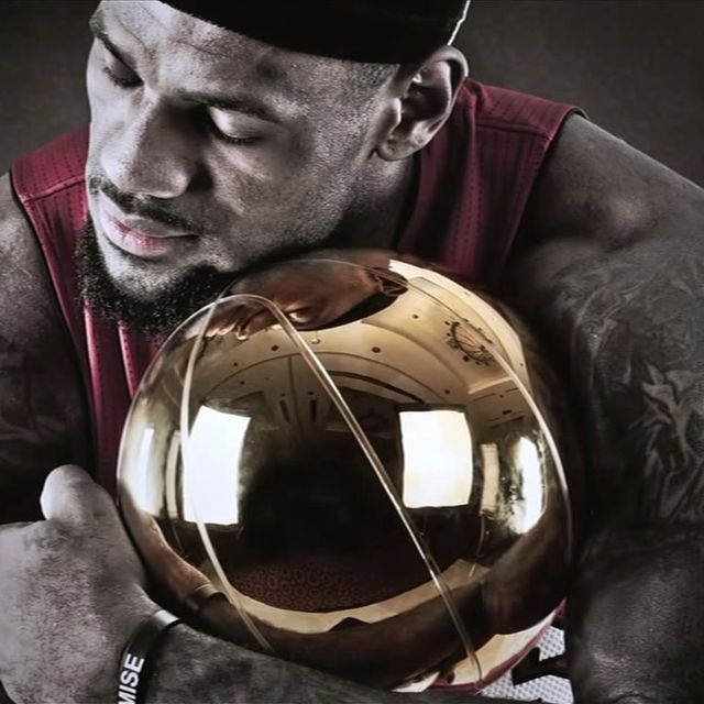 image: Lebron James. Miami Heat. World Champion 2012 by moisesmm10