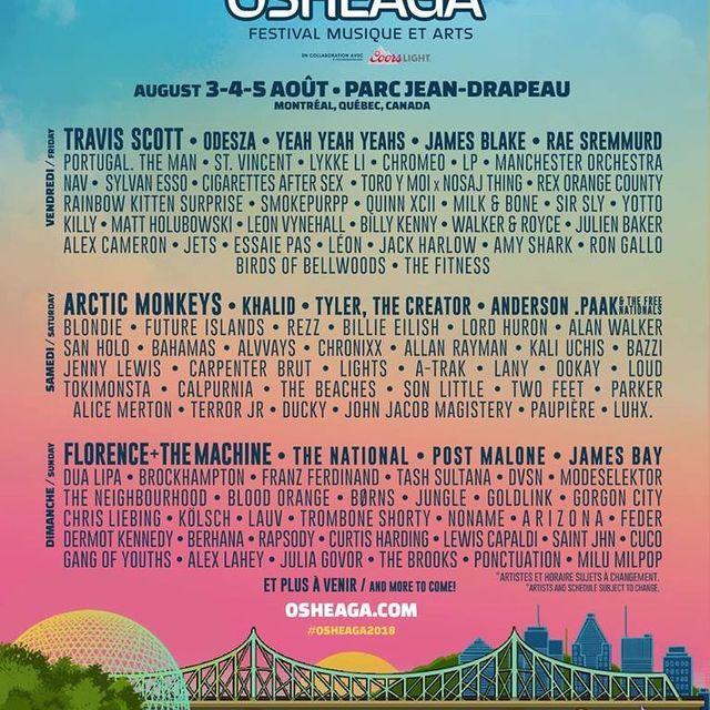 image: Montreal I'm coming back for @osheaga by tashsultanaofficial