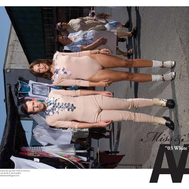 image: N03 ' WHITE TRASH --- Miss&Mister AA FANZINE' by aaenterprise