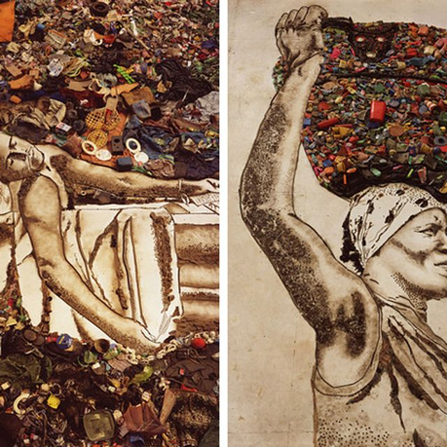 "image: ""WASTE LAND"": the transformative power of art. by iran"