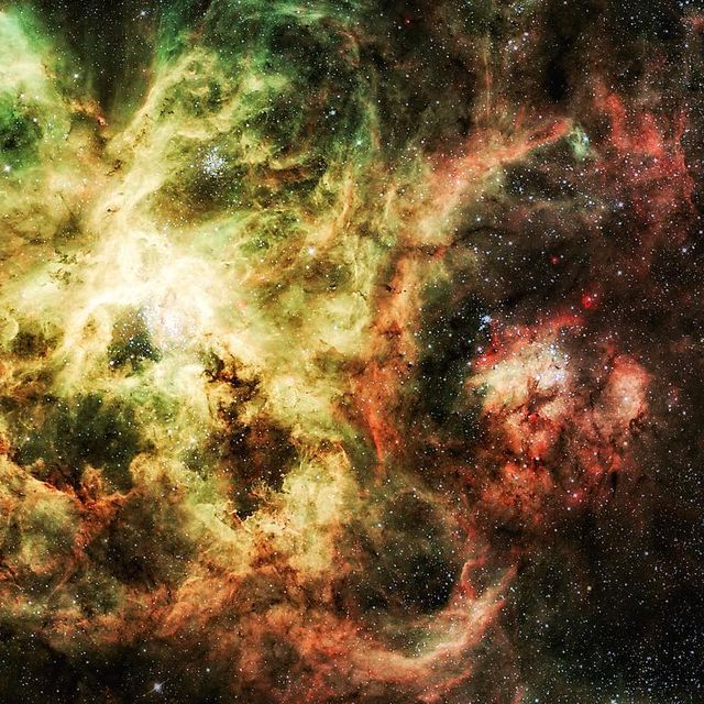 """image: Tentacles of the Tarantula....""""If we say that we have no sin, we deceive ourselves, and the truth is not in us."""".The largest, most violent star forming region known in the whole Local Group of galaxies lies in our neighboring galaxy the Large... by thehubblescope"""