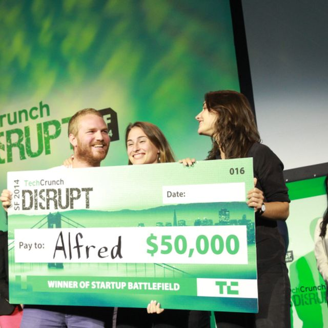 post: And The Winner Of TechCrunch Disrupt SF 2014 Is…Alfred! by greedygop