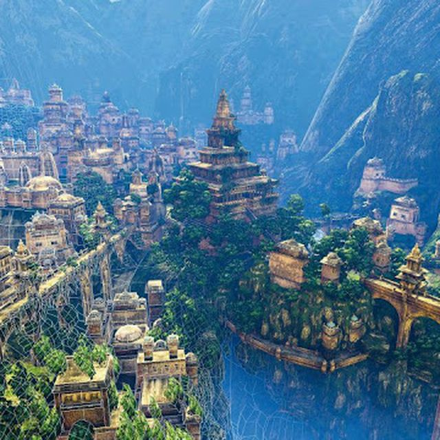 image: Shambala, the mistery of Tibet by rubenvm1