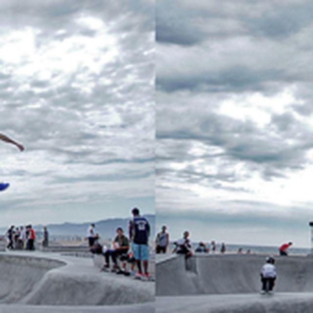 image: Skate at Venice Beach on Behance by eLafo