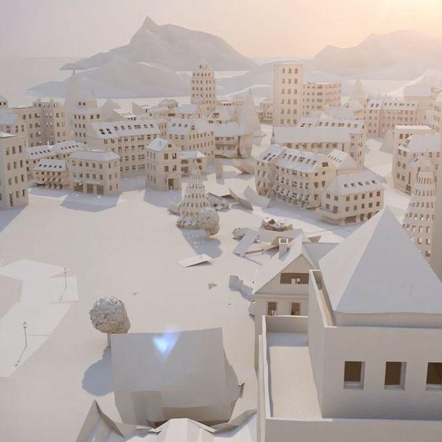 video: Paper City by kortvex