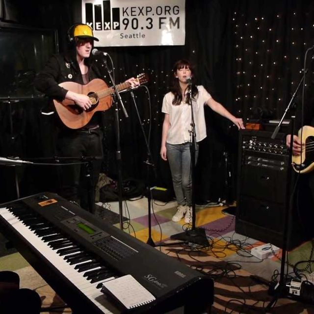 video: Little Green Cars - My Love Took Me Down To The Rive... by donmanue