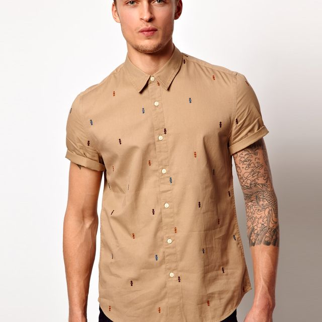 image: Shirt with Embroidery - Asos by andres-calamar-oh