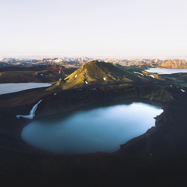 image: You don't get to see the Highlands lit by the morning sun every day but when you do it's a show you will never want to forget. #peaksofeurope by lebackpacker