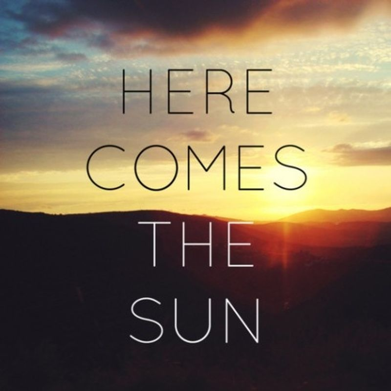 image: Here comes the Sun by ainielle