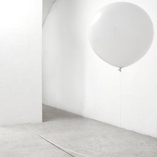 image: WHITE BALLOON by anurbanvillage