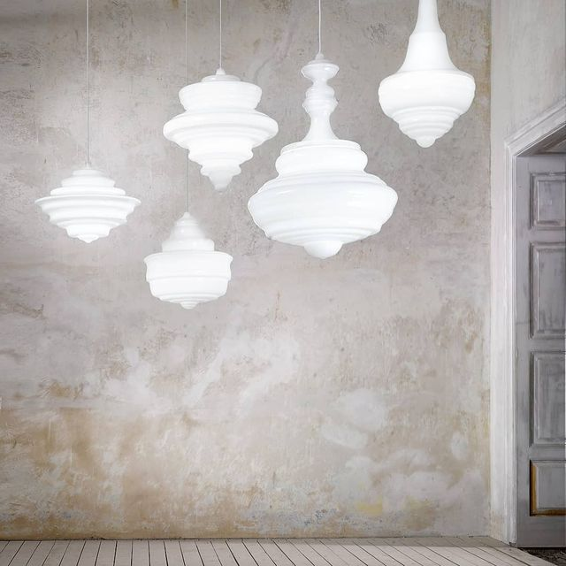 """image: NEVER ENDING GLORYXLasvit.••""""Lasvithas teamed up with designers Jan Plecháč and Henry Wielgus to recreate a selection of chandeliers found in five of the world's most famous theatres.The Neverending Glory collection is made up of a series of... by producture"""