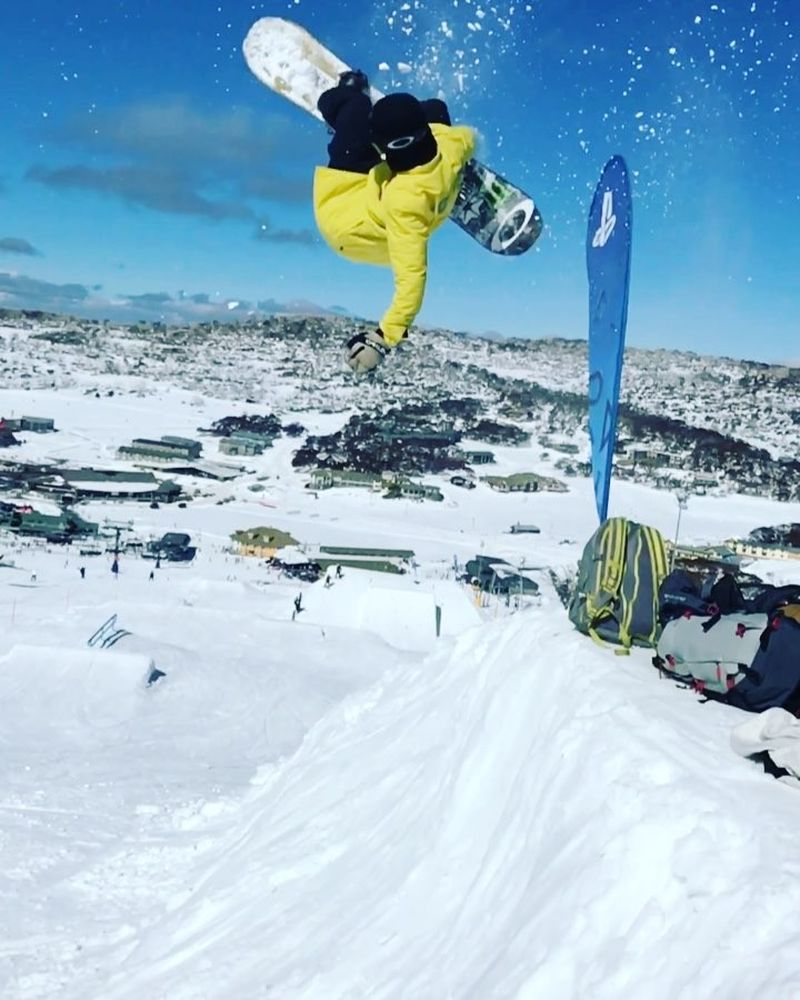 image: Love to find small transitions like this around the park ?? #cantstop @perisher_parks ?: @sventhorgren by stalesandbech