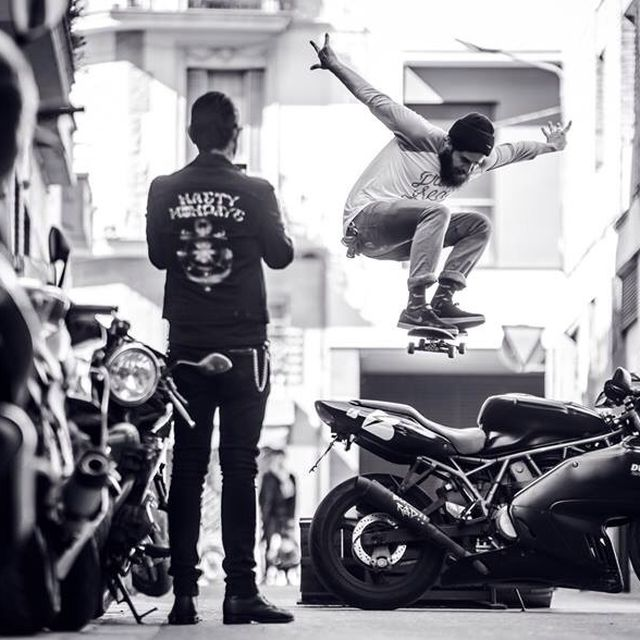 image: Skate Punk!  Abel on the air! Now! by sebasromero