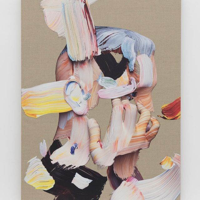 image: In His Own Heart -...Last day to see #postanalogpainting2 at @theholenyc today in New York. by matthewstone